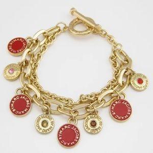Marc Jacob red charm bracelet